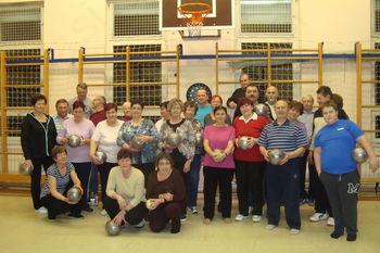 Redna rekreacija članic in članov Območnega društva invalidov Dravinjske doline