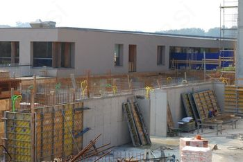 Gradnja športne dvorane se odvija po načrtih