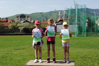 Atletski troboj na Poljanah v Mariboru