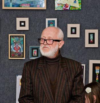 Slikarska razstava 'Sledovi časa' v Lični hiši