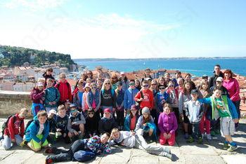 Šola v naravi s tečajem plavanja – Žusterna 2016