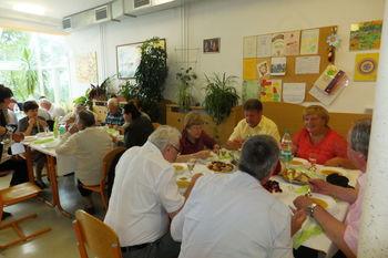 Druženje starejših občanov na Gorenju je uspelo