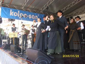 Folklorna skupina Kal nad Kanalom na gostovanju v Beli krajini