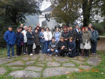 Obiskali Polhov Gradec in Poljansko dolino
