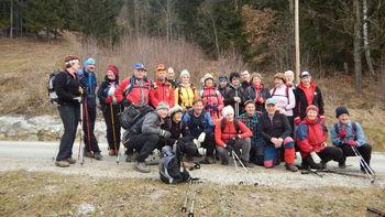 24. zimski pohod po Šisernikovi spominski poti v izvedbi PD Slovenj Gradec