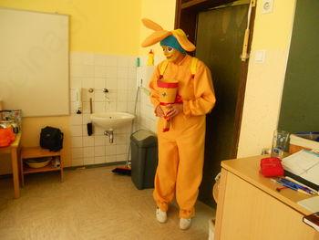 Obisk maskote v šoli in vrtcu Vuhred