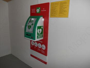 Defibrilator na Kambreškem