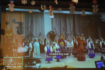 Videokonferenca OŠ Podgorje pri Slovenj Gradcu z rusko šolo Первая школа Дубны in božičnonovoletni sejem