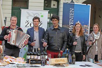 Vipavsko vino spet na Dunaju