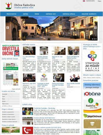 Prenovljene občinske spletne strani
