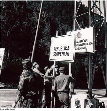 Samostojna Slovenija! Ob 25. obletnici državnosti