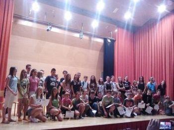 V poletni šoli na OŠ Kanal učili angleški učitelji