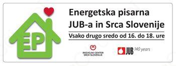 Brezplačni posvet v energetski pisarni JUB-a in Srca Slovenije