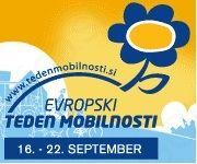 """Evropski teden mobilnosti - """"Naše ulice, naše odločitve"""""""
