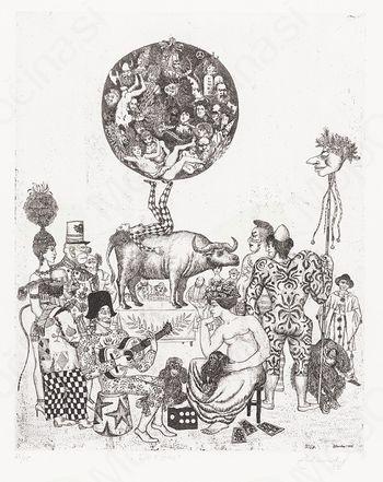 Iz zakladnice slovenske grafike - Karel Zelenko