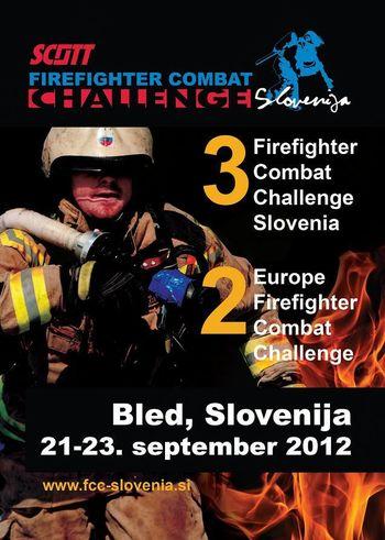 3. Firefighter Combat Challenge Slovenija na Bledu