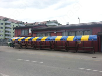 Prenovljene stojnice kmečke tržnice