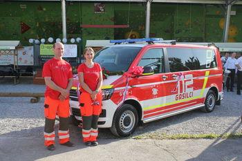 Novo vozilo loških gasilcev