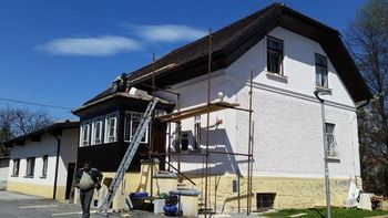 Nova streha na Glasbeni šoli