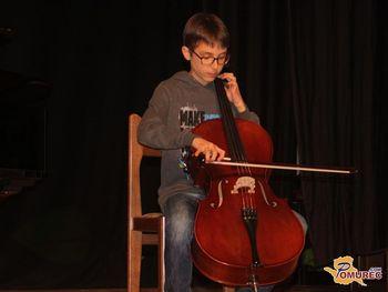 Letni nastop učencev Glasbene šole Slavka Osterca Ljutomer v Veržeju