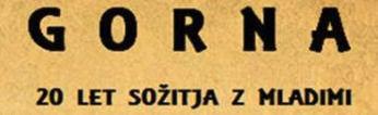 VABILO - PEVSKA SKUPINA GORNA