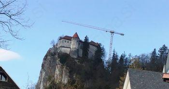 Dela na gradu se bodo nadaljevala tudi letos