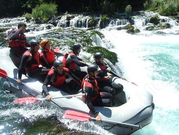 RAFTING po reki Savinji