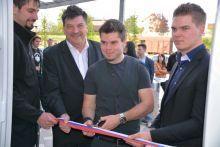Študentski klub Groš odprl prenovljene prostore