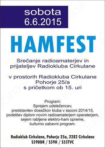 HAMFest srečanje radioamaterjev in prijateljev Radiokluba Cirkulane