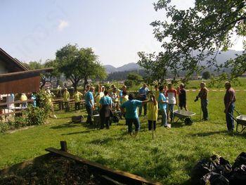 Uspešna prostovoljna delovna akcija Homšnica 2013