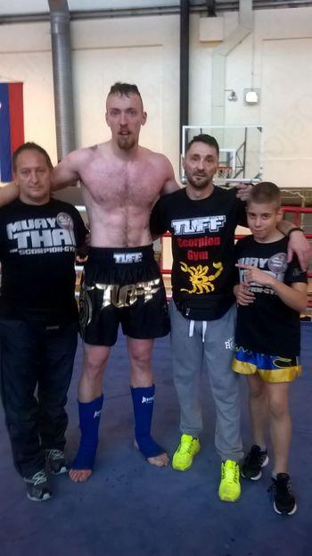 Mirnopečan Rok  Eršte državni prvak v tajskem boksu v članski kategoriji +91kg