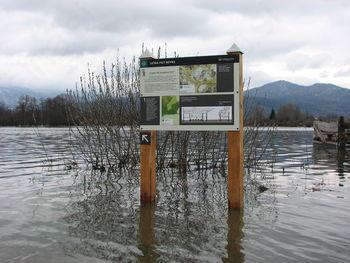 Obvestilo za občane – narasli vodotoki in reka Ljubljanica