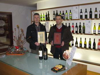 Vinarja Krapež in Poljšak – spet v vrhu