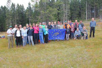 Izvedena 7. tradicionalna prostovoljna akcija čiščenja zaraščajočih travišč – planj na Pohorju