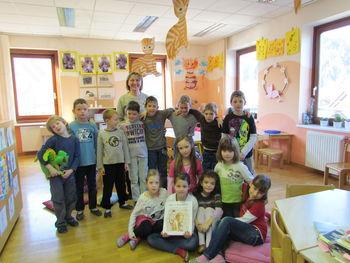 Obisk na Osnovni šoli Ribno