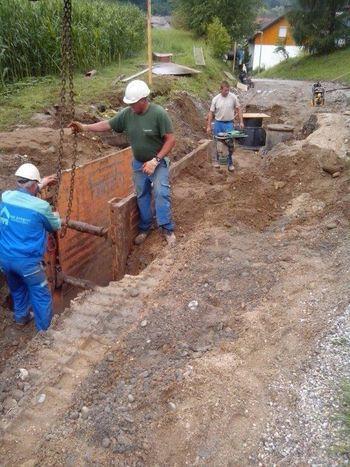 Projekt odvajanja in čiščenja odpadnih voda v porečju reke Drave - Zgornja Drava v občini Muta se končuje