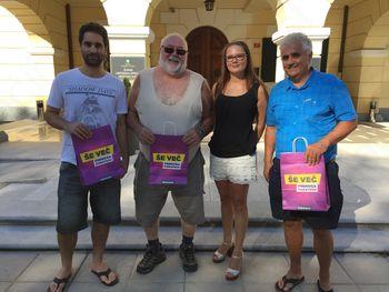 Nagrajenci poletne nagradne križanke v Glasilu Občine Šempeter-Vrtojba