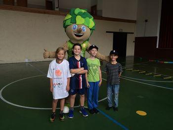 Predstavirev košarkarske šole RIS na POŠ Tabor