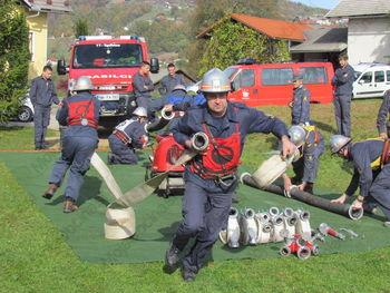 Občinsko gasilsko tekmovanje v Dobindolu