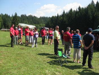 3. srečanje članov in članic operative GZDD na Kapli pri Odomovem jezeru