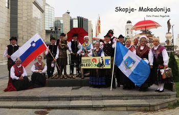 Folklorno društvo Bled na gostovanju v Makedoniji