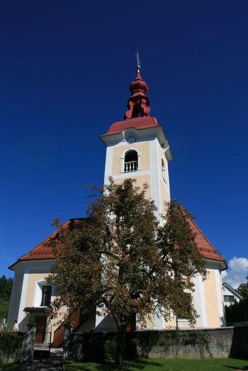 Blagoslov obnovitvenih del pri sveti Katarini v Rafolčah