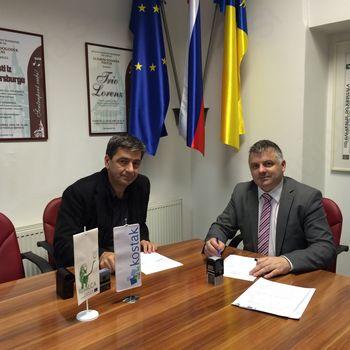 Podpisali pogodbo za gradnjo inovativne male čistilne naprave projekta RusaLCA