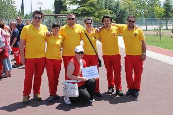 Ekipa prve pomoči Rdečega križa in civilne zaščite občine Miren-Kostanjevica je na Regijskem tekmovanju osvojila odlično drugo mesto