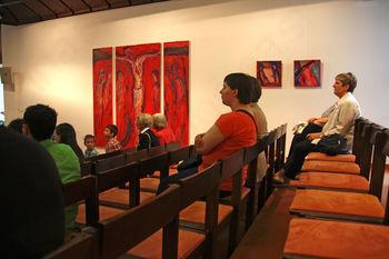 Otvoritev slikarske razstave Mire Ličen Krmpotić