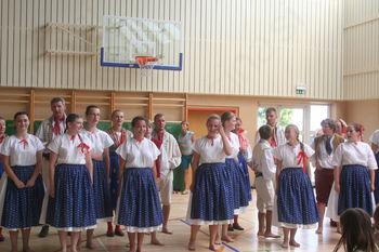 Nastop folklorne skupine iz Češke