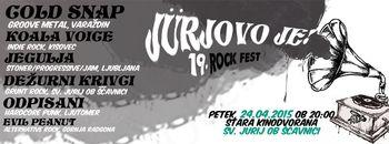 "Prihaja 19. tradicionalni rock fest ""Jürjovo je!"""