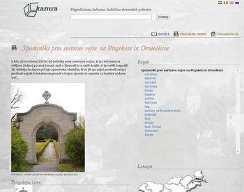 Spomeniki prve svetovne vojne na Ptujskem in Ormoškem – nova digitalna zgodba na portalu Kamra