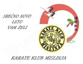 Voščilo karate kluba Mislinja