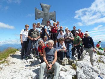 Na Krniške skale v Karnijskih Alpah
